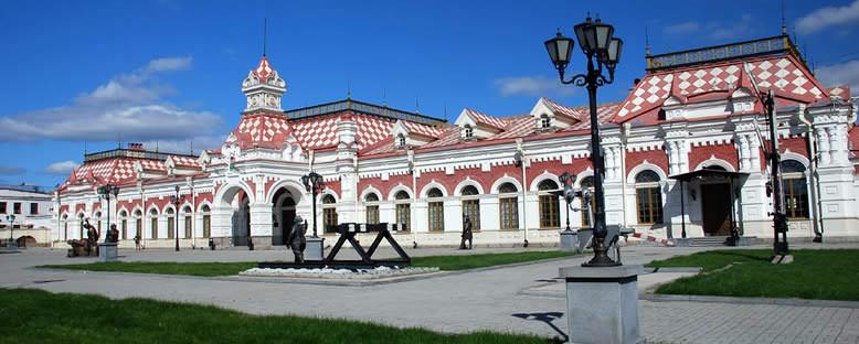 Tarihi Tren İstasyonu - Ekaterinburg
