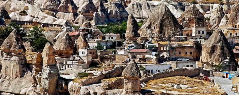 Taş Evler ve Yapılar - Kapadokya