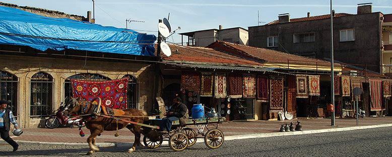 Halı Dükkanları - Bergama
