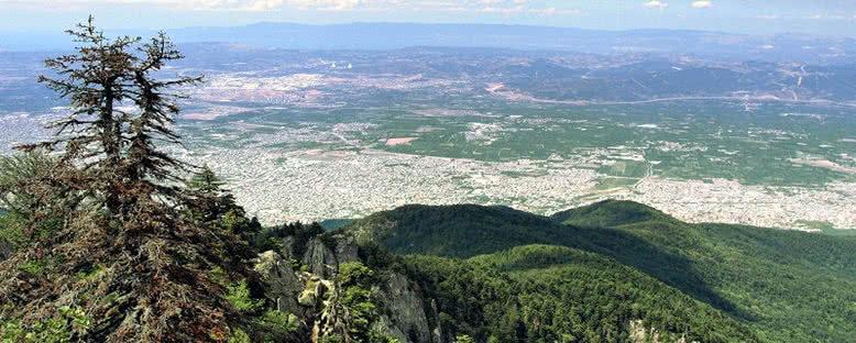 Tepeden Bursa Manzarası - Uludağ