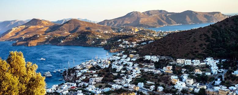 Tepeden Panteli Manzarası - Leros
