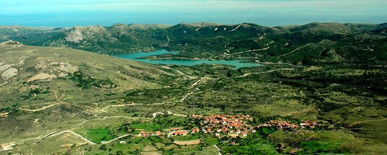 Tepeköy ve Baraj Gölü - Gökçeada