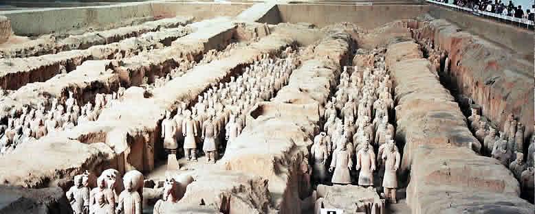 Terracotta Askerler - Xian