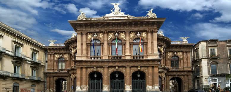 Tiyatro Binası - Catania