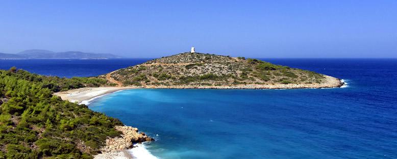 Trahili Plajı - Sakız Adası