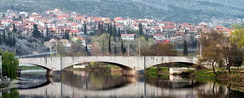 Trebisnjica Nehri ve Eski Köprü - Trebinje