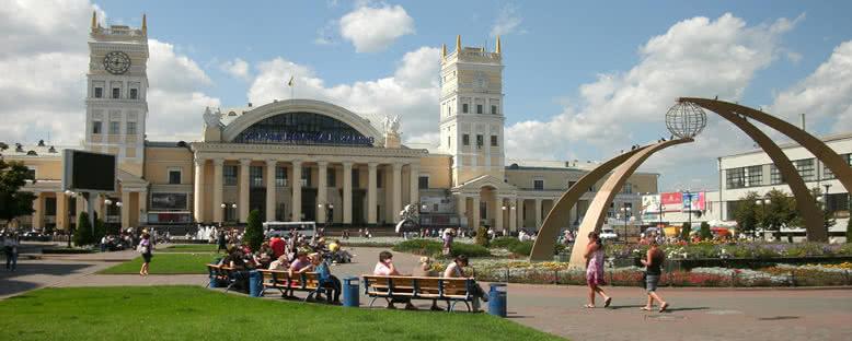 Tren İstasyonu - Kharkv