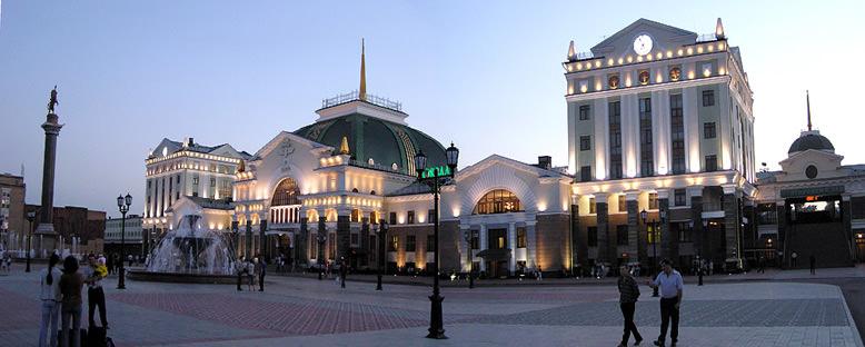 Tren İstasyonu - Krasnoyarsk