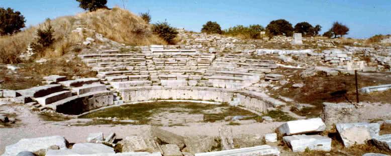 Troya Amfitiyatrosu - Kazdağları