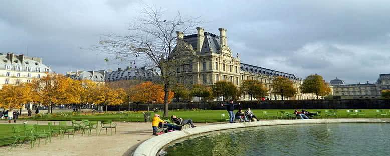 Tuileries Bahçesi - Paris