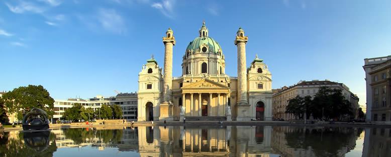Karlskirche Katedral - Viyana