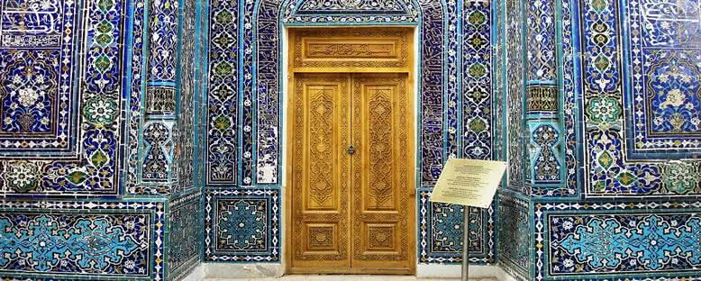 Türbe Kapısı - Semerkant