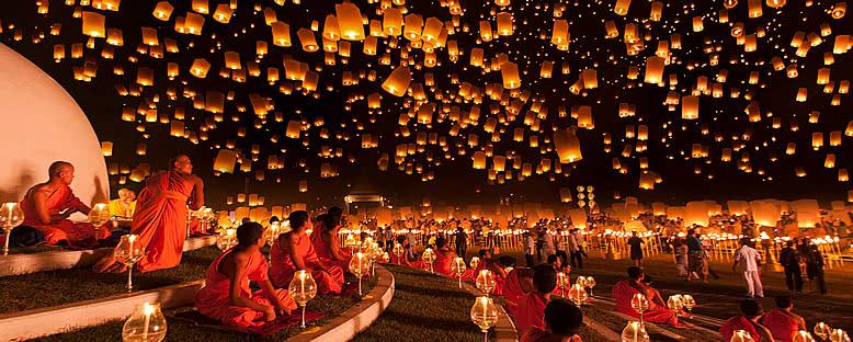 Uçan Fener Festivali - Bangkok