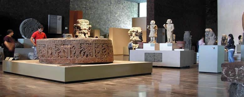 Ulusal Antropoloji Müzesi - Mexico City