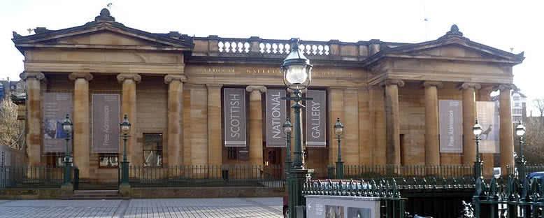 Ulusal Galeri - Edinburgh