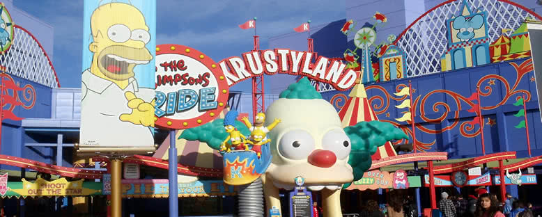 Universal Stüdyoları Simpsons Bölümü - Orlando