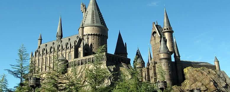 Universal Stüdyoları'nda Hogwarts - Orlando