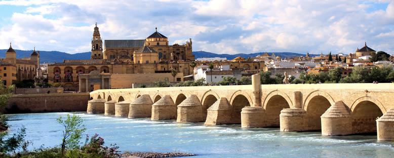 Cordoba Camii, Roma Köprüsü ve Guadalquivir Nehri - Cordoba