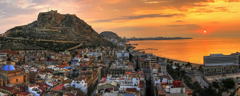 Gün Batımı - Alicante