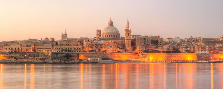 Valletta'da Gün Doğumu - Malta