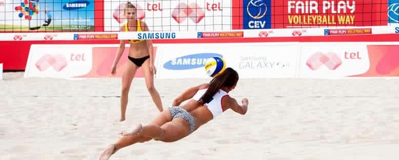 Plaj Voleybolu Turnuvaları - Varna