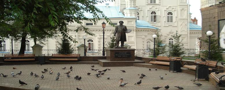 Vasily Surikov Anıtı - Krasnoyarsk