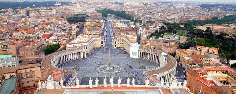 Vatikan ve Aziz Peter Meydanı- Roma