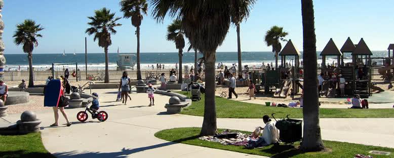 Venice Plajı Yürüyüş Yolu - Los Angeles