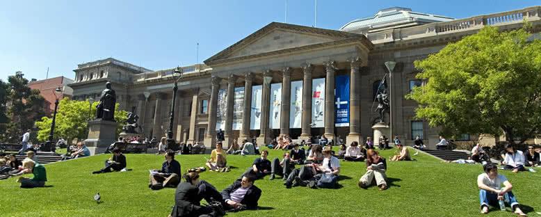 Victoria Kütüphanesi - Melbourne