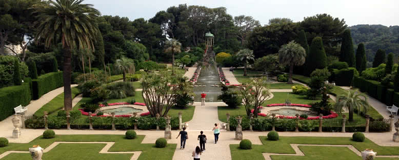 Villa  Ephrussi de Rotschild'in Bahçesi - Nice