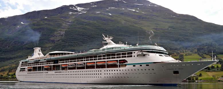 Vision of the Seas ile Büyük Britanya Gemi Turu