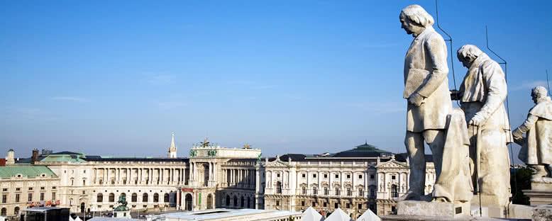 Hofburg Sarayı'na Yukarıdan Bakış - Viyana