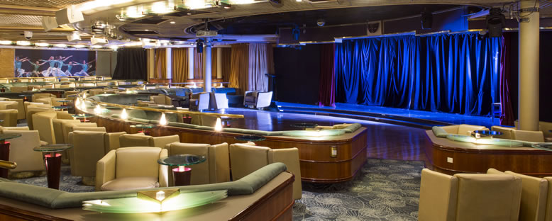 Muses Lounge - Celestyal Cruise