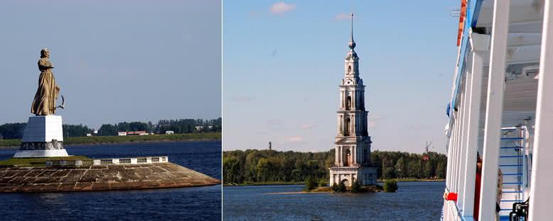 Volga Ana ve Sular Altında Kalyazin