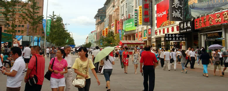 Wangfujing Caddesi - Pekin
