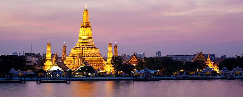 Wat Arun Gece Manzarası - Bangkok
