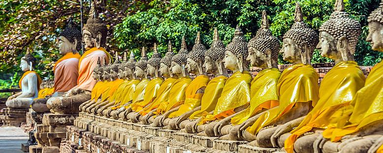 Wat Yai Chai Mongkhon Tapınağı - Ayutthaya