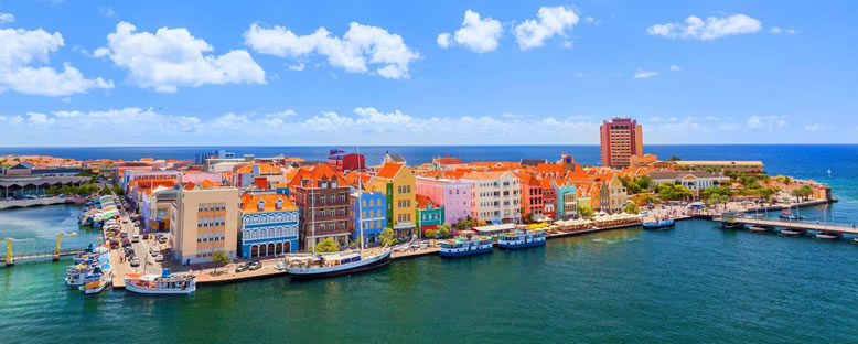 Willemstad Manzarası - Curacao