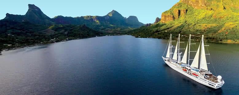 Wind Spirit ile Tahiti Gemi Turu