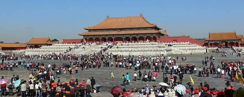 Yasak Şehir Avlusu - Pekin
