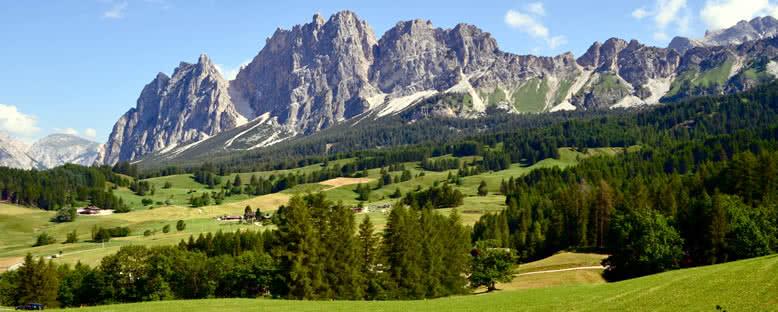 Yaz Manzarası - Cortina d'Ampezzo