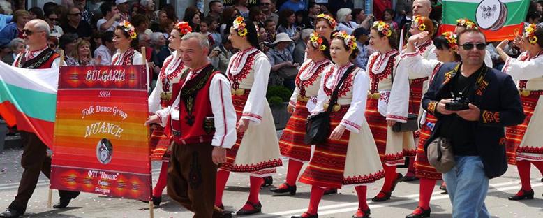 Yerel Dans Grupları - Kazanlık Gül Festivali
