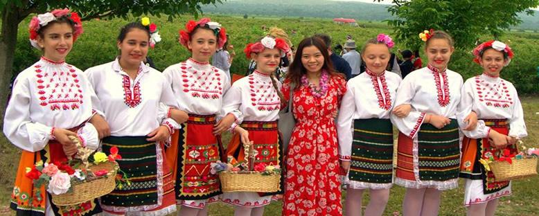 Yerlilerle Gül Toplama - Kazanlık Gül Festivali