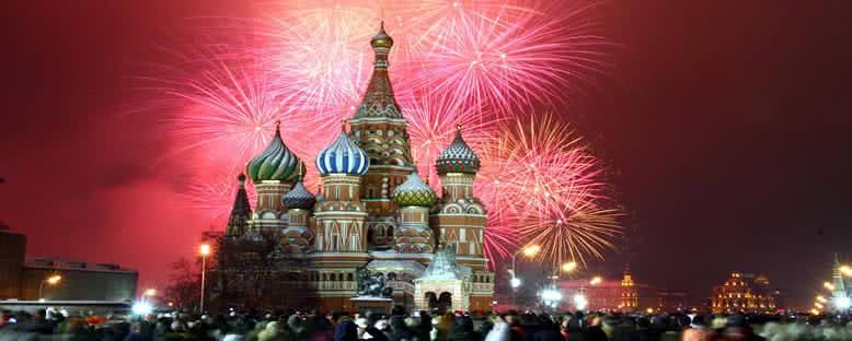 Yılbaşı Eğlenceleri - Moskova