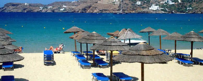 Mylopotas Plajı - Ios