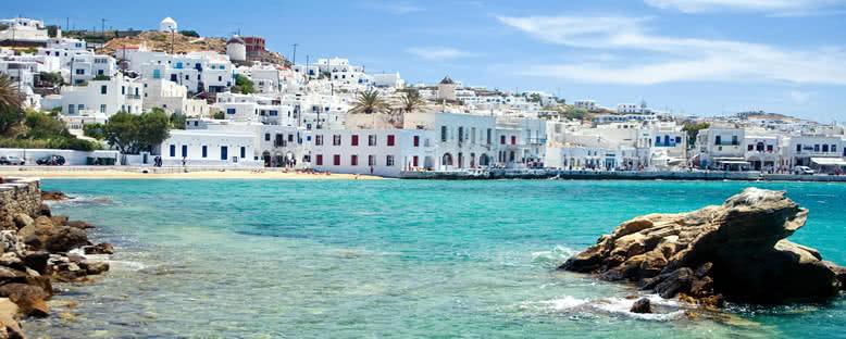Ada Manzarası - Mykonos