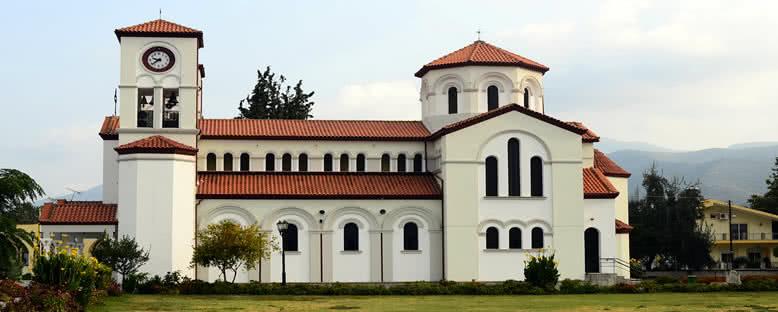 Nea Karvali'deki Agios Grigorios Kilisesi - Kavala
