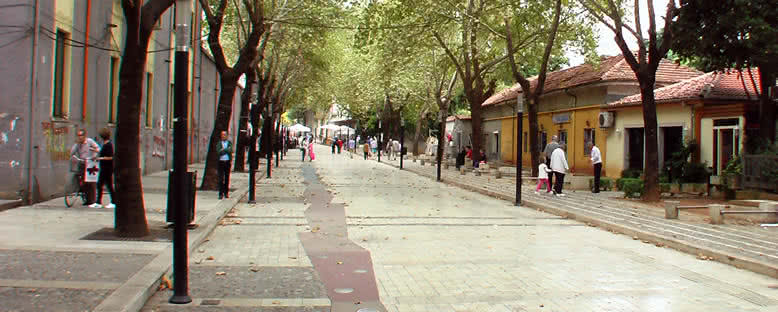 Yürüyüş Yolları - Tiran