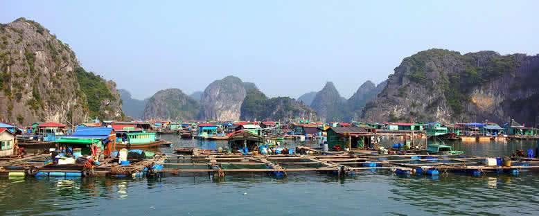 Yüzen Köyler - Halong Bay