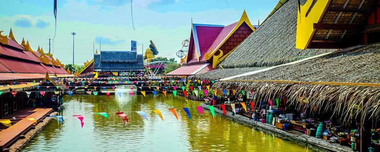 Yüzen Pazar - Bangkok